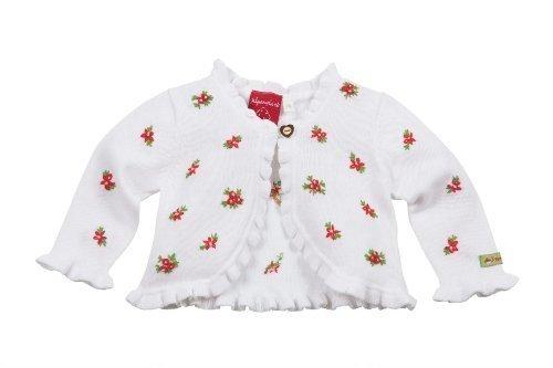 Bondi-Dress Strickjacke Strick weiß Größe 86