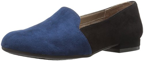 Aerosoles A2 by Women's Good Call Slip-On Loafer Dark Blue Combo