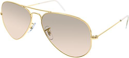 nbsp;Aviator Crys de Ray brown sol Gafas Ban Arista pink RB3025 Silver Mirror qgwIwE0