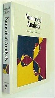 :DOC: Numerical Analysis: Mathematics Of Scientific Computing. cocteles created James invited Carmen Edmundo similar