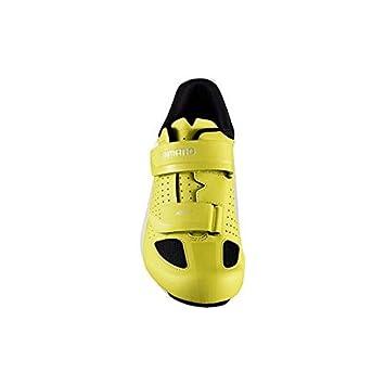 SHIMANO SHRP1PG420SY00 - Zapatillas Ciclismo, 42, Amarillo, Hombre