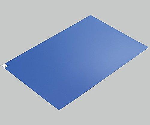 アズピュア(アズワン)2-4909-03エコノミー粘着マット青600×1200 B07BD34ZM5 27771