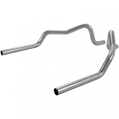 Flowmaster 815801 Prebend Tailpipes 409S - 2.50 in. Rear Exit - Pair