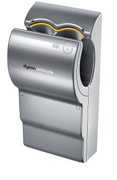 Dyson Airblade AB03 - Secador de manos eléctrico, color gris: Amazon.es: Salud y cuidado personal