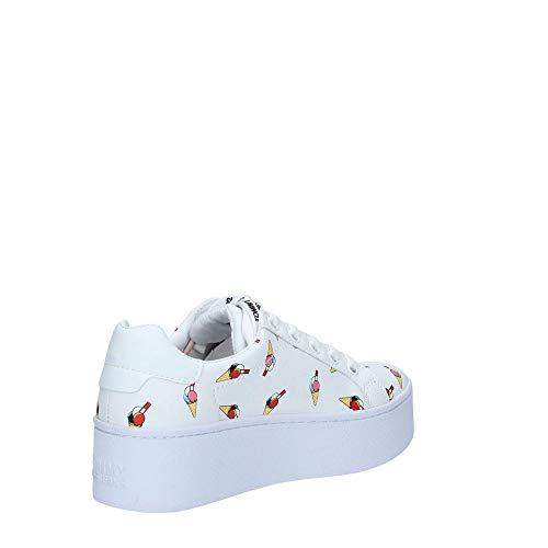 check out 42e79 cb0d3 En0en00534 Tommy White Donna Jeans Sneakers nxP0xqw4pC