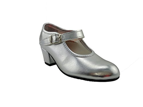 CREACIONES PASOS DE BAILE S.L. Zapatos Flamenca Plata, Carleti 15, Made in Spain