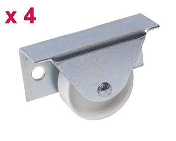 Generic 4 x contiene ruedas para cajas de la cama extraíble para el cajón<1&2545