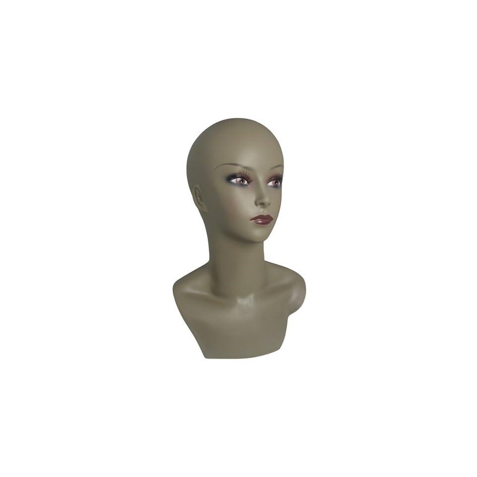 Wig Display Mannequin Head 15 Inch