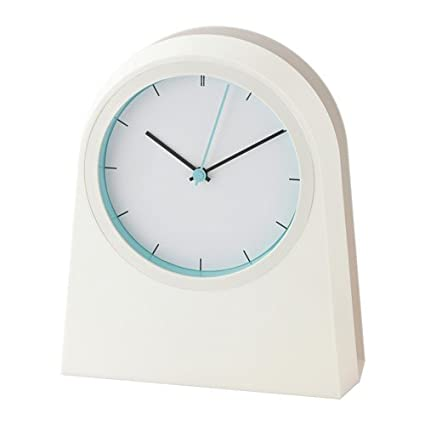 IKEA POFFARE reloj de pared en colour blanco