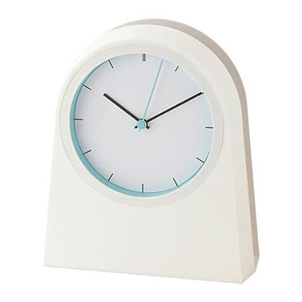IKEA POFFARE reloj de pared en colour blanco