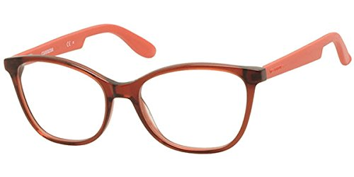 Carrera 5501 Eyeglass Frames CA5501-0BDA-5217 - Burgundy Matte Red Frame, Lens Diameter 52mm,