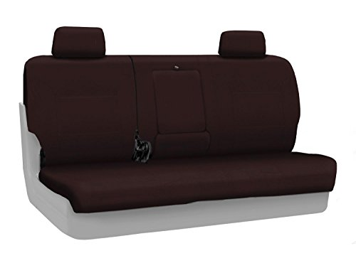 - Coverking Rear Custom Fit Seat Cover for Select Mazda CX-7 Models - Poly Cotton (Wine)