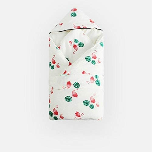 Baby Products Spring and Autumn Thick Warm Sleeping Bag Blanket Winter Quilt Can Be Detached, Style:Thick Flamingo Baby Products
