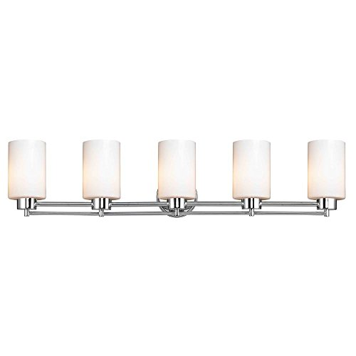 Design Classics Lighting Chrome Bathroom Light
