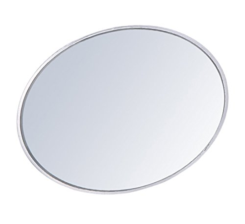 Newest Upgrade Blind Spot Mirror, Ampper 3 Aluminum Frame Round HD Glass Convex Wide Angle Rear View Mirror For All Universal Vehicles Car Suv Truck