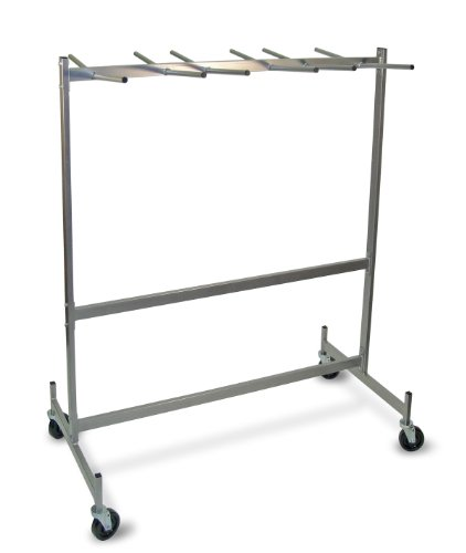 Raymond Steel Hanging Chair/Table Truck, Phenolic Wheels, 800 lbs Load Capacity, 74