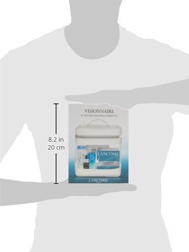 Lancôme Crema Hidratante Visionnaire + Activador de Juventud Advanced Génifique + Fluido Desmaquillante Suave Galatéis + Neceser - 1 Pack: Amazon.es: ...