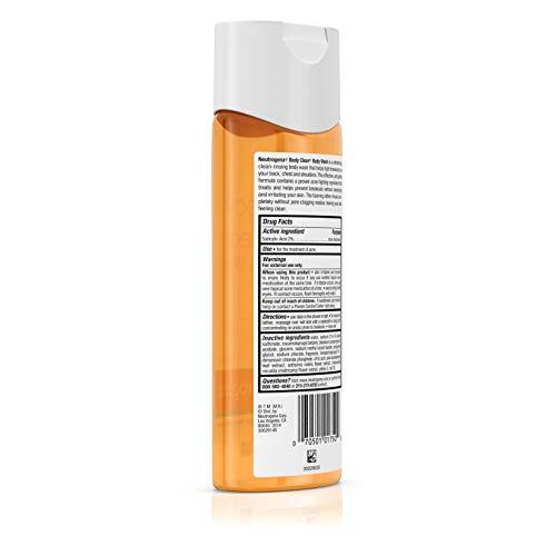 Neutrogena Body Clear Acne Body Wash with Glycerin & Salicylic Acid Acne Medicine for Acne-Prone Skin, Non-Comedogenic, 8.5 fl. Oz (Pack of 6) by Neutrogena (Image #6)