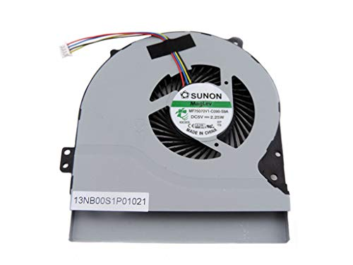 Original New Laptop Replacement CPU Cooling Fan for Asus X550 X550V X550C X550VC X450 X450CA S56C S56CA K56C Series Laptop, P/N: MF75070V1-C090-S9A -  computerparts2016, Fan034