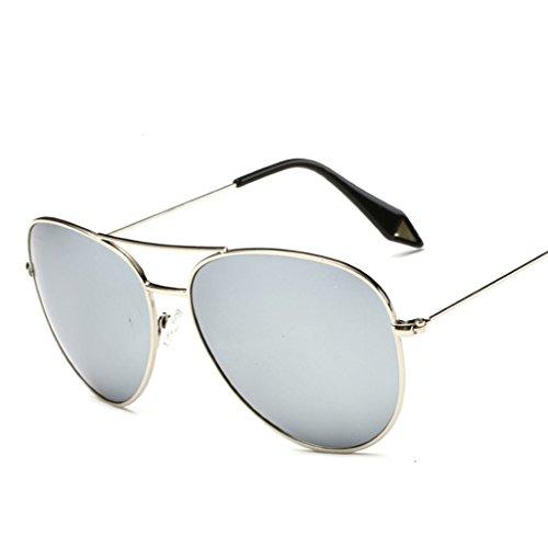 Marco personalidad Espejo amp;Gafas Película Vintage polarizada sol Gran de X9 Gafas 5 Gafas Lente de Color 7 protecciónn de amp; Gafas 6Cwqx7agg