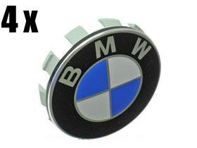 Wheel Center hub Caps w / Emblems (SET 4) for e36 e38 e39 e46 e53 e60 e61 e63 e64 e65 e66 e70 e71 e72 e82 e83 e85 e86 e88 e89 e90 e91 e92 e93 f01 f02 f07 for BMW MONANT