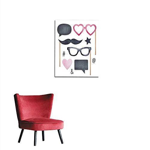 Chicago Booth Chalk - longbuyer Wall Sticker Decals Photo Booth
