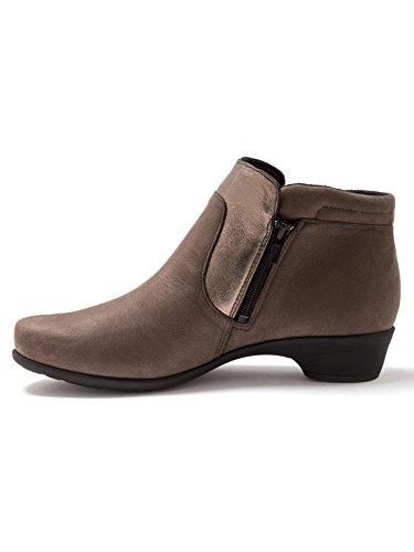 Double Pediconfort Taupe Pediconfort®à Glissière Boots qqCw6H