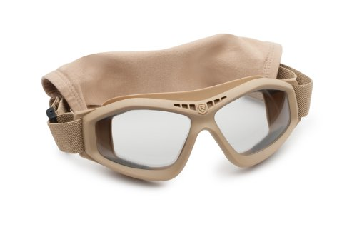Revision Military Bullet Ant Tactical Goggle Basic Clear 4-0045-0116 Bullet Ant Tactical Goggle Basic Clear Tan, ()