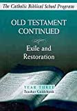 Old Testament Continued, Year Three, Brian Schmisek and Angelo G. Giuliano, 0809195895