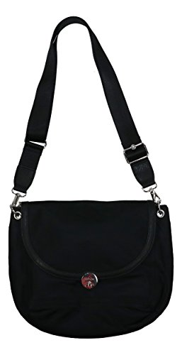 Multi Kipling Hafford Crossbody Compartment Black Purse Flap 5Sa0qwS