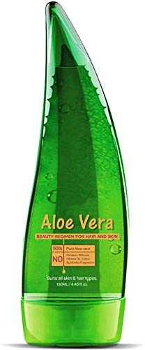 BEST CHOICE NUTRITION Multipurpose Pure Aloe vera Gel for Skin & Hair | Moisturise, Soothes & Hydrates 125 ML | (PACK OF 1)