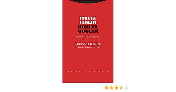 Italia oculta: Terror contra democracia (Serie Derecho) eBook ...