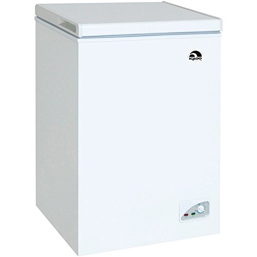 RCA IGLOO 3.5 Cubic Foot Chest Freezer White (Large Image)