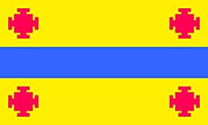 magFlags XL Flag Popayán, Colombia   landscape flag   2.16m²   23sqft   120x180cm   4x6ft - 100% Made in Germany - long lasting outdoor flag