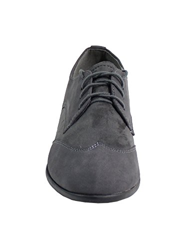 By Shoes - Mocasines Mujer Gris