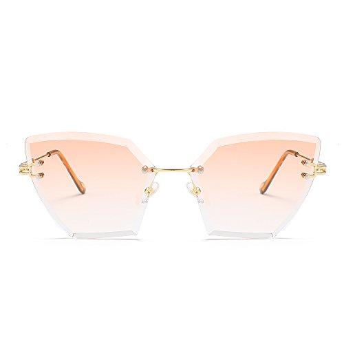 RinV Armazones Vacaciones Moda Sombrillas Sol No2 De Mujeres De NO3 Gafas Piezas Marinas Moda Sol De Callejero Lanzamiento Viajes Metal Gafas A1BrgA
