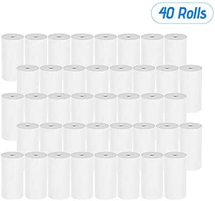 Walmeck Rollo de papel térmico para recibos, 5730 mm, para ...