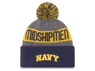 New Era Naval Academy Midshipmen 2016 NCAA Sport Knit Pom Hat