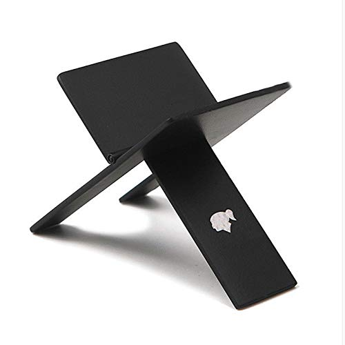 Black Foldable Cigar Stand Ashtray Holder w/Pu