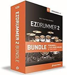 TOONTRACK トゥーントラック ソフト音源 EZ DRUMMER 2 BUNDLE ソフトウェア・ドラム音源