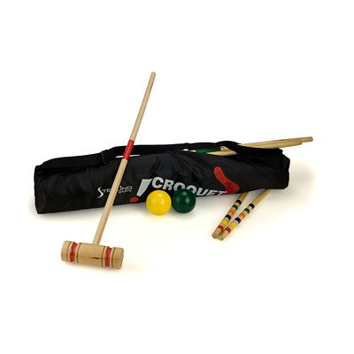 Sterling Sports Wooden Croquet Game by Sterling Sports