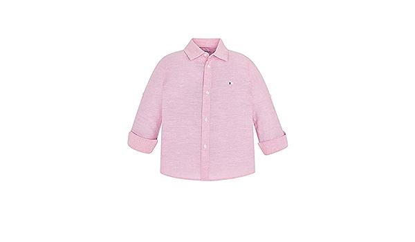 Mayoral, Camisa para niño - 0141, Rosa: Amazon.es: Ropa