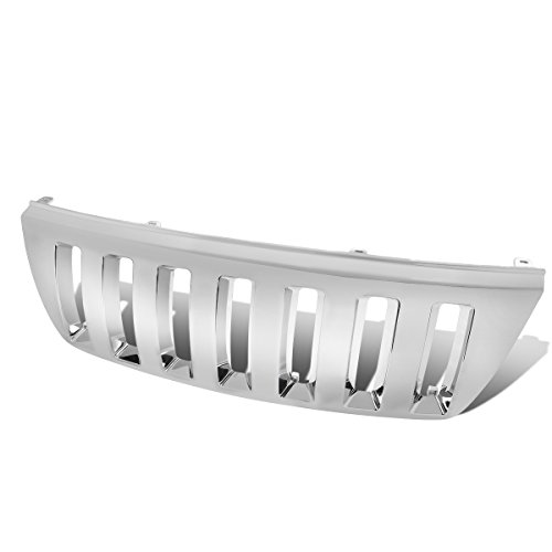 (DNA MOTORING GRF-022-CH Front Bumper Grille Guard)
