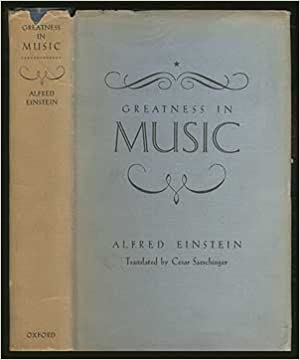 Book Greatness in music