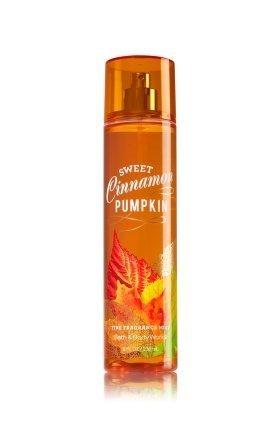 Cinnamon Pumpkin Pie - Bath & Body Works Fine Fragrance Mist Sweet Cinnamon Pumpkin