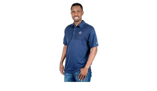 29b1a7b3e Amazon.com   Dallas Cowboys Nike Dry Elite Polo   Sports   Outdoors