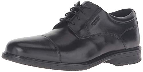 Rockport Men's Essential Details II Captoe Oxford, Black Leather, 100 M US