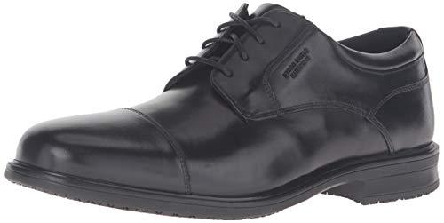 - Rockport Men's Essential Details II Captoe Oxford, Black Leather, 100 M US