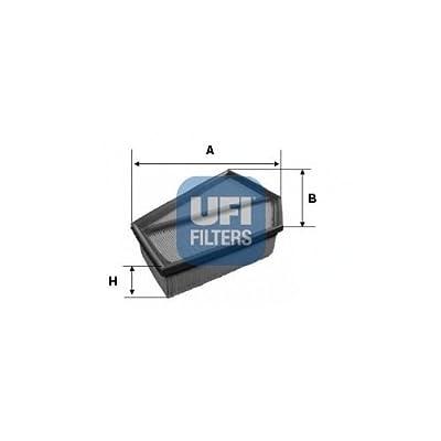Ufi Filters 30.349.00 Air Filter: Automotive