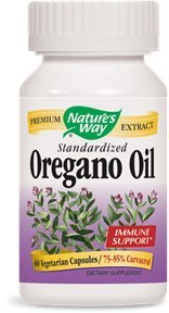 NATURE'S WAY OREGANO OIL EXTRACT, 60 VCAP